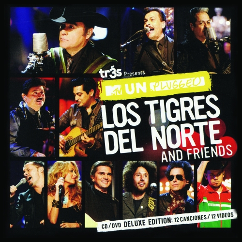 portada disco tigres del norte unplugged