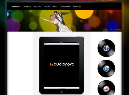pagina,web,audionova,dj,para,boda,eventos,df